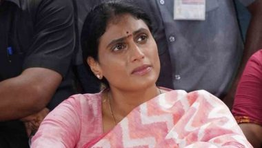 Telangana: YSRTP Leader and Jagan Mohan Reddy's Sister YS Sharmila Goes on Fast, Demands Jobs for Unemployed