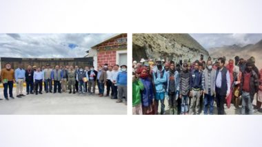 Leh: CLC Reviews Implementation of Labour Laws and New Labour Codes With Senior Officials of UT of Ladakh and Project Officials