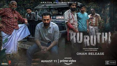 Kuruthi: Prithviraj Sukumaran's Action-Thriller Skips Theatrical Release; Will Premiere on Amazon Prime Video This Onam