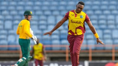 West Indies vs South Africa 5th T20I Live Streaming Online in India: Watch Free Telecast of WI vs SA T20I Match on TV
