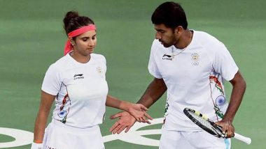 Sania Mirza/Rohan Bopanna vs Aidan McHugh/Emily Webley-Smith Wimbledon 2021 Live Streaming Online: How to Watch Free Live Telecast of Mixed Double Tennis Match in India?