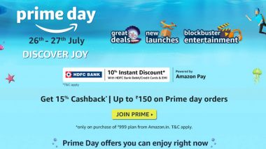 Amazon Prime Day Sale 2021: Up to 40% Off on iPhone 11, OnePlus 9R, Galaxy M31s; Up to Rs 35K Discount on Laptops