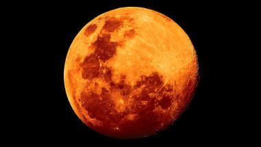 Orange Moon: July's Full Moon Likely to be Orange in Colour on Friday Due to Wildfires in US and Canada; Know Date And Time When 'Buck Moon' Will Be Visible