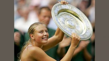 Maria Sharapova Shares Pictures of Her Winning First Wimbledon Title on This Day in 2004