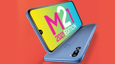 Samsung Galaxy M21 2021 Edition Launched in India From Rs 12,499; First Online Sale on July 26, 2021