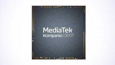 MediaTek Launches Kompanio 1300T Chipset for Next-Gen Tablets