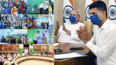 Odisha CM Naveen Patnaik Rolls Out 'One Nation-One Ration Card' Scheme