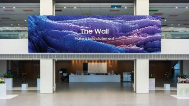 Samsung Launches Upgraded Model of 'The Wall' MicroLED Display