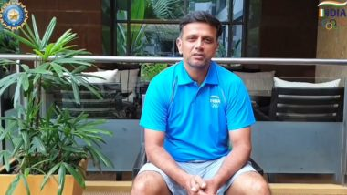Rahul Dravid Cheers On Indian Athletes in the Ongoing Tokyo Olympics 2020, Watch Video