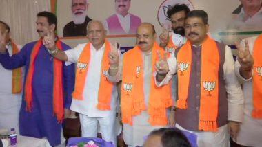 PM Narendra Modi Congratulates Basavaraj Bommai on Taking Oath as Karnataka CM, Praises BS Yediyurappa for His 'Monumental Contribution'