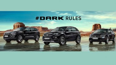 Tata Motors Introduces Dark Edition Models of Altroz, Nexon, Nexon EV & Harrier; Check Prices, Features & Specifications