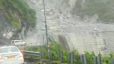 Uttarakhand Landslides: Debris Block Rishikesh-Badrinath National Highway 07 Near Chamoli After Heavy Rains