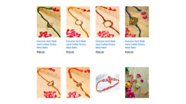 Raksha Bandhan 2021: Tribes India, a One-Stop Shop For Upcoming Rakhi Festival and Other Gifting Needs