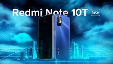 Redmi Note 10T 5G Launching Today in India, Watch LIVE Streaming Here