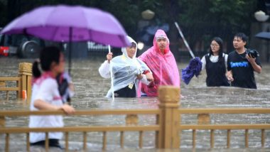 China Floods: Torrential Rain Affects 3 Million People in Henan Province; 33 Dead, 8 Missing