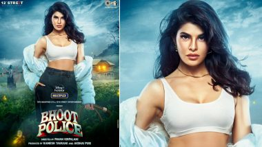 Bhoot Police: Jacqueline Fernandez Looks Stunning in the New Poster Introducing Her Character From the Horror Comedy (View Pic)