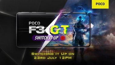 Poco F3 GT India Launch Confirmed For July 23, 2021