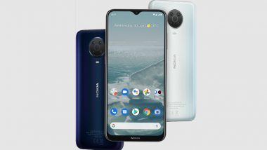 Nokia G20 Smartphone With MediaTek Helio G35 SoC Launched; Check Prices, Features & Specifications