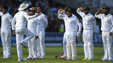 On This Day in 2016: Pakistan Team Celebrated in Special Fashion After Defeating England in a Lord's Test Match, Watch Video