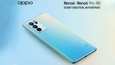 Oppo Reno6 Series To Be Launched in India on July 14, 2021