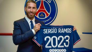 Sergio Ramos Reveals Neymar's Role in Him Joining Paris Saint-Germain for 2021–22 Season