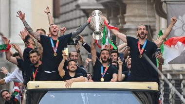 Italy's Open Bus Parade Following Euro 2020 Triumph Was Unauthorised