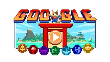 Tokyo Olympics 2020: Google's Doodle Champion Island Games Begin to Celebrate The Start of 32nd Edition Summer Games