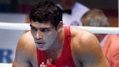 Injured Satish Kumar Loses to Bakhodir Jalolov in Men's Boxing Super Heavyweight Quarterfinal, Out of Tokyo Olympics 2020