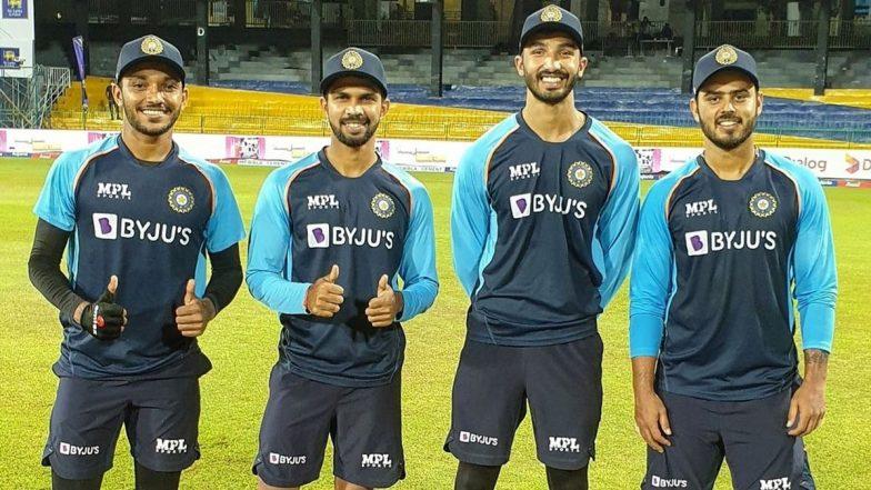IND vs SL 2021 Series: Team India Leaves Sri Lankan Shores, Krunal Pandya Remains in Isolation