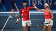 Novak Djokovic Opts Out of Mixed Doubles Bronze Medal Match With Injury After Losing to Pablo Carreno Busta at Tokyo Olympics 2020