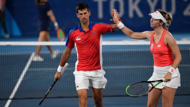 Nina Stojanovic Deprived of Medal After Novak Djokovic Opts Out of Mixed Doubles Bronze Medal at Tokyo Olympics 2020