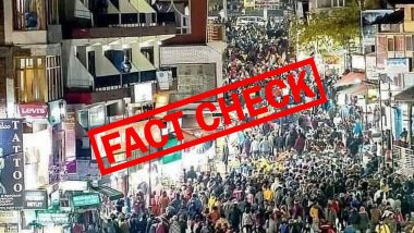 Fact Check: Old Image From Manali Shared As Recent Photo of Crowds; Here's The Truth Behind The Viral Photo