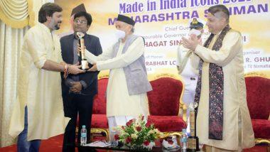 Planet Marathi Founder Akshay Bardapurkar Felicitated by Maharashtra Governor (See Pics)