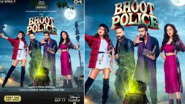 Bhoot Police: Saif Ali Khan, Arjun Kapoor, Yami Gautam And Jacqueline Fernandez's Movie To Premiere On Disney Plus Hotstar On September 17