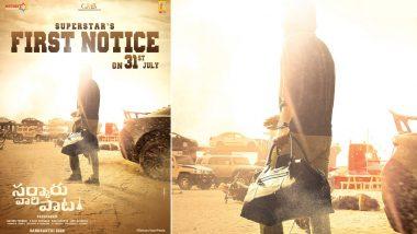 Sarkaru Vaari Paata: Mahesh Babu and Keerthy Suresh To Unveil a New Glimpse of the Film on July 31