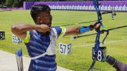 Pravin Jadhav, Atanu Das and Tarundeep Rai at Tokyo Olympics 2020, Archery Live Streaming Online: Know TV Channel & Telecast Details for Men's Team 1/8 Eliminations Coverage