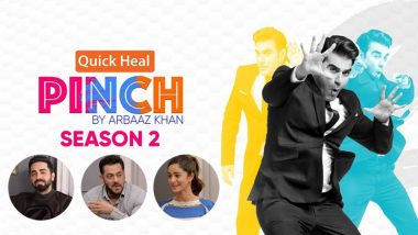 Pinch Season 2 Trailer: Arbaaz Khan to Return as Host for His Celebrity Chat Show; Salman Khan, Ayushmann Khurrana, Ananya Pandey and Others to Confront Their Social Media Trolls