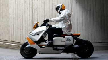 BMW CE 04 Electric Scooter With 130Km Range Unveiled, Check Features & Specifications Here