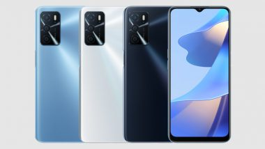 Oppo A16 Smartphone With MediaTek Helio G35 SoC Launched; Prices, Features & Specifications