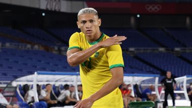 Brazil vs Germany, Tokyo Olympics 2020: Richarlison's Hattrick Leads Brazil to 4-2 Win During Group D Fixture (Watch Video Highlights)