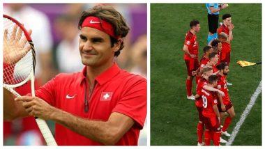 Roger Federer Hails Team Switzerland After Spain Beat Granit Xhaka's Men 3-1 on Penalties in Euro 2020