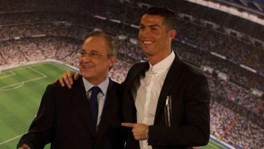 Cristiano Ronaldo's Former Boss Florentino Perez Calls Him an 'Idiot, Sick Man' In Reported Audio Leaks