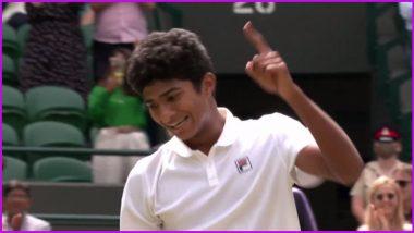 Indian-Origin Samir Banerjee Wins Wimbledon 2021 Boys' Singles, Clinches his Maiden Junior Grand Slam Title
