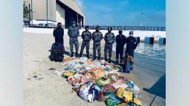 Tamil Nadu: Indian Coast Guard Arrest Two with 12,00 Kg Sea Cucumber in Mandapam