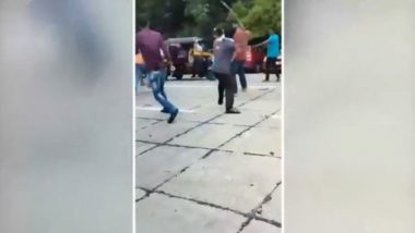Mumbai Lawyer Attacked By Goons With Swords, Iron Rods and Knives on Road in Broad Daylight in Dahisar (Watch Video)