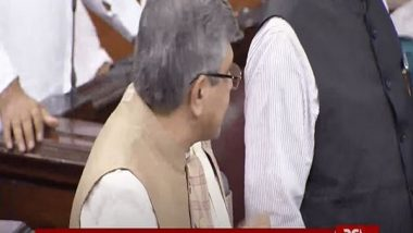 India News   Govt to Bring Privilege Motion Against Trinamool MPs for 'misbehaving' with IT Minister, Seek Suspension of Santanu Sen