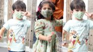 Taimur And Inaaya Entertain The Media As They Get Papped (View Pics)