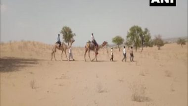 Rajasthan: Teachers Travel by Camel To Teach Students Lacking Mobile Networks in Barmer