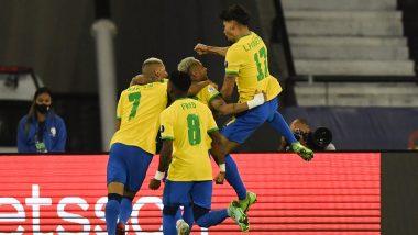 Brazil 1-0 Peru, Copa America 2021 Result: Lucas Paqueta's Strike Advances Selecao To Final (Watch Goal Video Highlights)