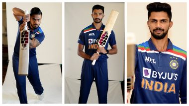 Devdutt Padikkal, Hardik Pandya, Yuzvendra Chahal & Other Members of Team India Gear Up Series Against Sri Lanka With a Photoshoot, BCCI Shares Video